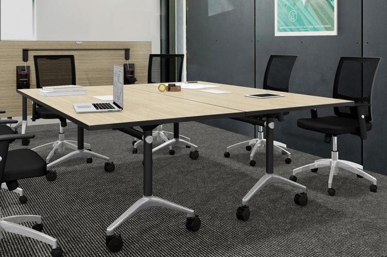Host Mobile Flip Meeting Table Ddk Commercial Office