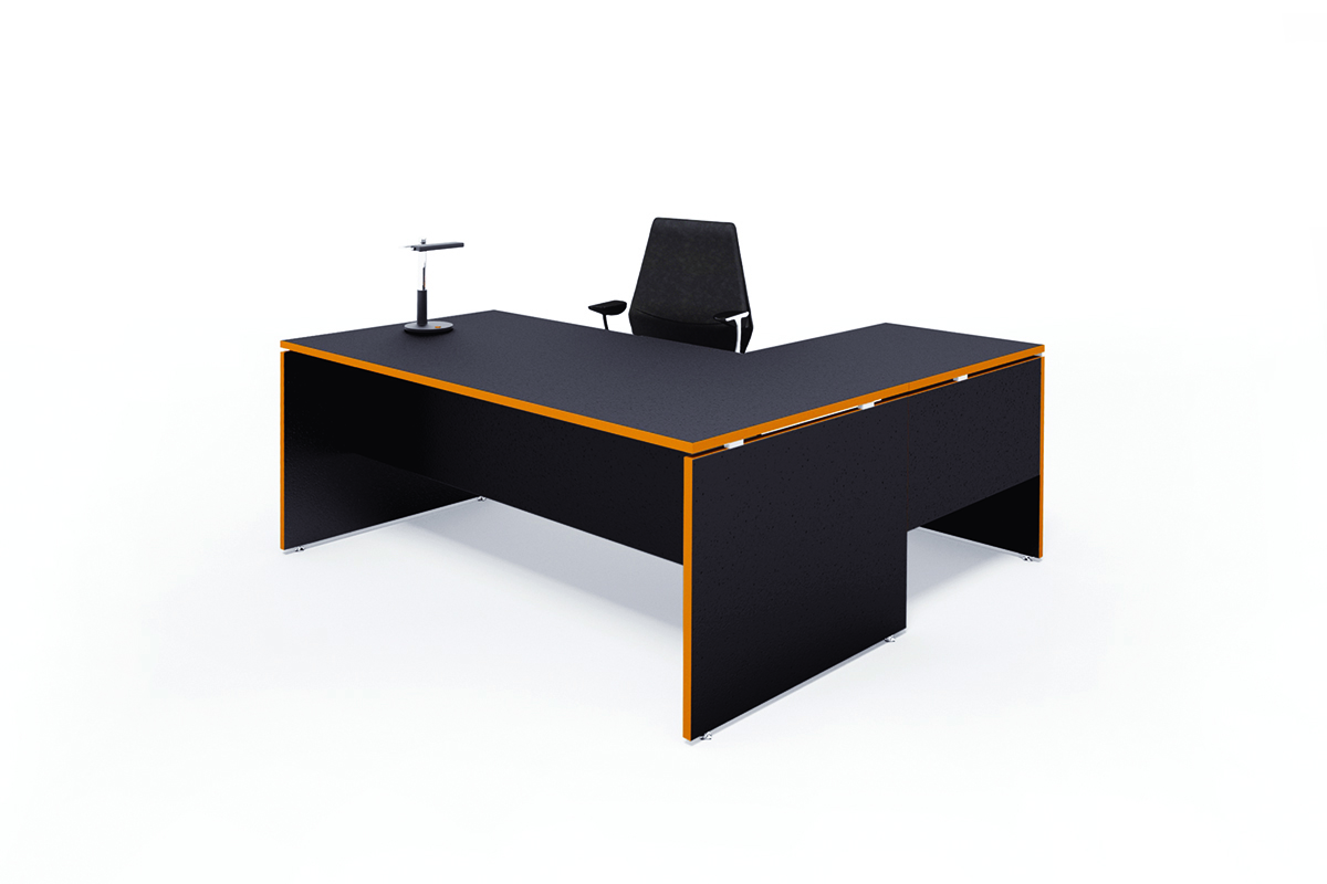 Silhouette Executive Desk | DDK Commercial Office Furniture